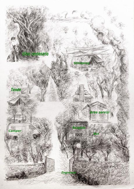 camping siracusa mappa